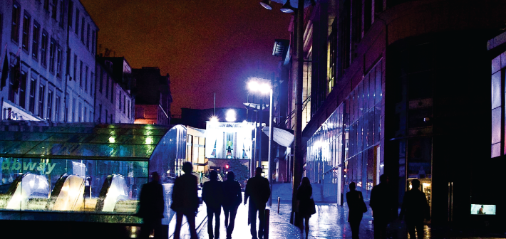 Glasgow — fra arbeiderby til trygdeby