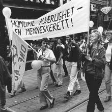 Da homofile var bander og morfinister var individer