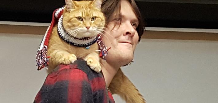 Bob er ikke en katt. Bob er Bob.