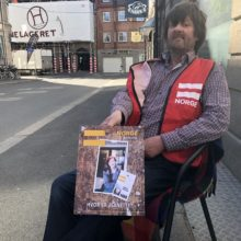 Erlik er på gata i Fredrikstad